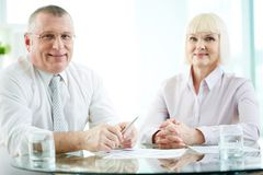 Successful business partners Stock Photos