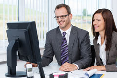 Successful business partnership Stock Photo
