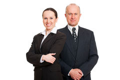 Successful business people Stock Images
