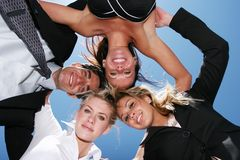 Successful business people. For teamwork Royalty Free Stock Photo
