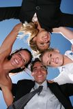 Successful business people. For teamwork Stock Images