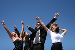 Successful business people. For teamwork Royalty Free Stock Photography
