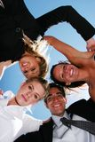 Successful business people. For teamwork Stock Photo