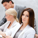 Successful business people at the conference Royalty Free Stock Image