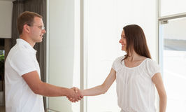 Successful business people shaking hands Royalty Free Stock Photography