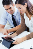 Successful business people at work Stock Photography
