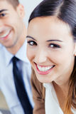 Successful business people at work Royalty Free Stock Image