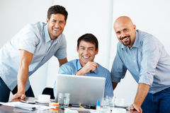 Successful business people working together Royalty Free Stock Image