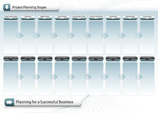 Successful Business Planning Chart Royalty Free Stock Image
