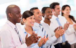 Successful business presentation Royalty Free Stock Image