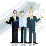 Successful business professionals Royalty Free Stock Images