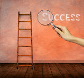 Successful business projection concept Stock Photos