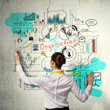 Successful business strategy plan Royalty Free Stock Photo