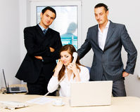 Successful business team Royalty Free Stock Photography