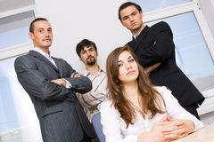 Successful business team Royalty Free Stock Image