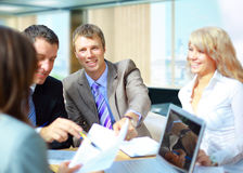 A successful business team Royalty Free Stock Photography