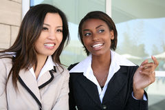 Successful Business Team. A successful business team of diverse women Royalty Free Stock Images