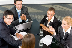 Successful business-team Stock Photography