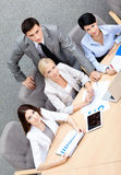 Successful business team at the conference Royalty Free Stock Image