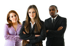 Successful Business Team. Happy smiling successful business team Stock Photography