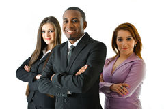 Successful Business Team. Happy smiling successful business team Royalty Free Stock Photo