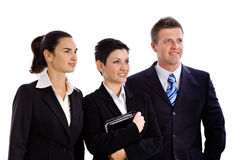 Successful business team isolated Royalty Free Stock Photo