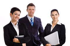 Successful business team isolated Stock Image