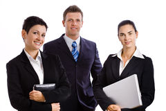 Successful business team isolated Royalty Free Stock Images