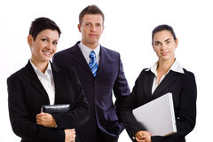 Successful business team isolated Royalty Free Stock Photography