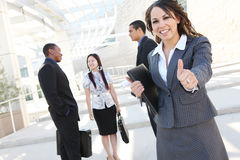 Successful Business Team at Office Royalty Free Stock Images