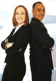 Successful Business Team Smiling Royalty Free Stock Photography