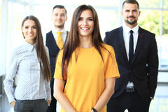 Free Successful Business Team Smiling Royalty Free Stock Photos - 62064488