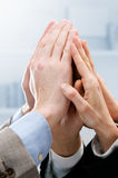 Successful business teamwork Royalty Free Stock Images