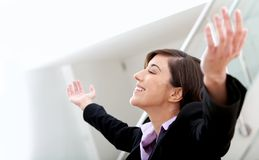 Successful business woman Stock Photography