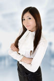 Successful business woman. With confident expression in office Royalty Free Stock Photography