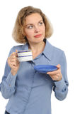 Successful business woman. Royalty Free Stock Photos