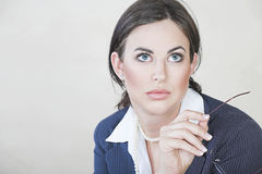 Successful business woman Stock Images