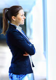 Successful business woman looking confident Royalty Free Stock Image