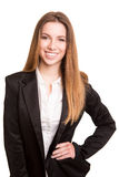 Successful business woman looking confident and smiling Royalty Free Stock Photo