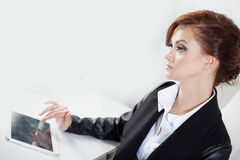 Successful business woman looking confident and Stock Photo