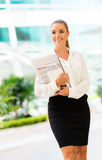 Successful business woman Royalty Free Stock Photography