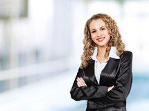Successful business woman Royalty Free Stock Image