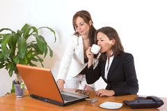 Successful business women Royalty Free Stock Photo