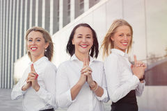 Successful business women Royalty Free Stock Photos