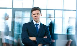 Successful businessman stock photography