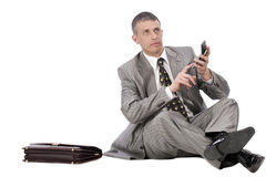 The successful businessman Royalty Free Stock Images