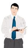 The successful businessman stock illustration