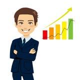 Successful Businessman royalty free illustration