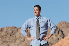 Successful businessman Royalty Free Stock Photos