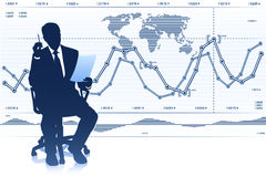 Successful businessman Stock Images
